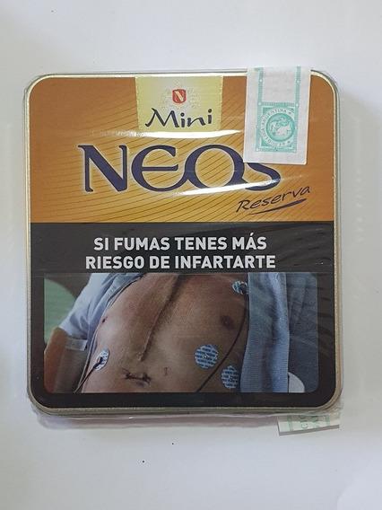Lata 10 Cigarros Neos Mini Reserva