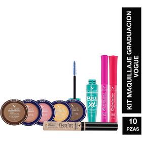 Kit Maquillaje Noche Graduación Incluye 10 Piezas Vogue