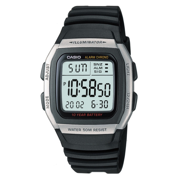 Relógio Casio Masculino W-96h-1avdf Digital