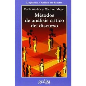 Métodos De Análisis Crítico Del Discurso, Wodak, Gedisa