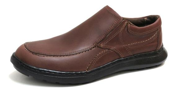 Zapatos Hombre Cuero Vacuno Confort Elastico Korek L-319