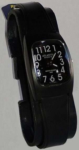 Relógio Atlantis 5541w Preto Feminino - Original
