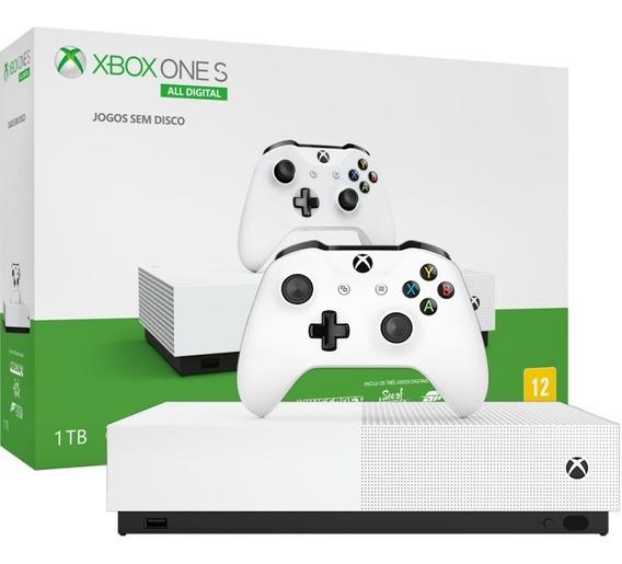 Console Microsoft Xbox One S All Digital 1tb Sem Jogos