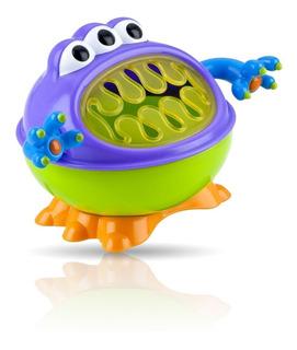 Vaso Bebe Cerealero Snack Nuby Monster