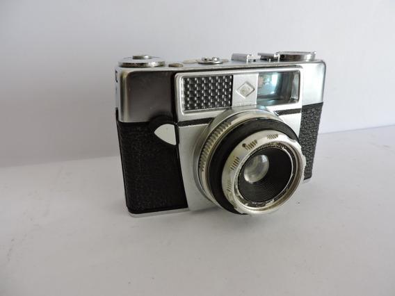 Máquina Fotográfica Alemã Agfa Muito Antiga Veja Video