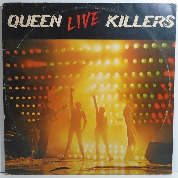 Queen 1979 Killers Live Lp Duplo Capa Dupla Com Encartes