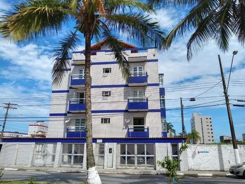 Apartamento Com 2 Dormitórios À Venda, 50 M² Por R$ 200.000 - Centro - Mongaguá/sp - Ap0098