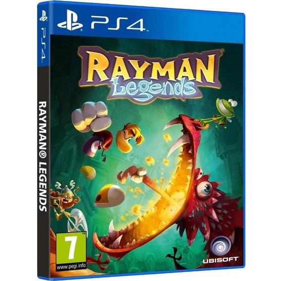 Rayman Legends Ps4 Midia Fisica Original Lacrado Nacional Br