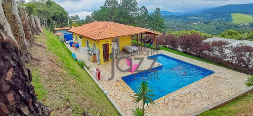 Espetacular Chácara Com 2 Dormitórios À Venda, 700 M² Por R$ 480.000 - Portão - Atibaia/sp - Ch0443