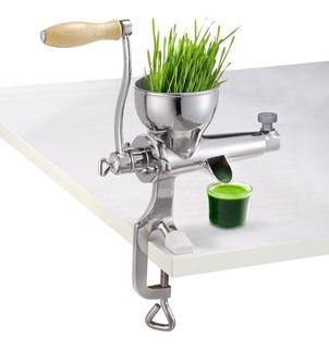 Extractor Manual De Wheatgrass Pasto Trigo Acero Inoxidable