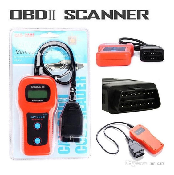 Scanner Automotriz Memoscan U480 Obdii
