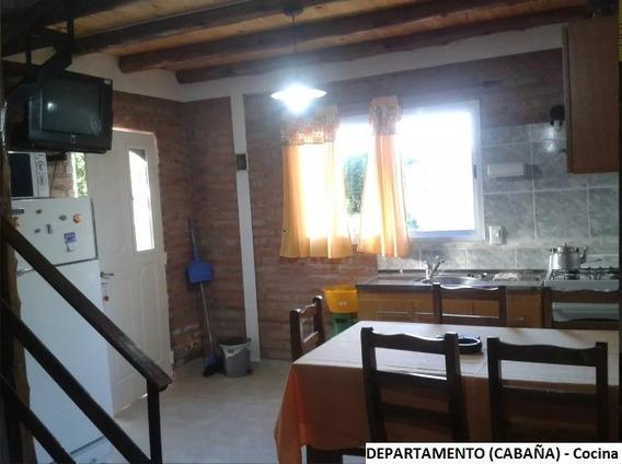 Casa Y Cabaña Para 5 Personas En El Centro De Mina Clavero