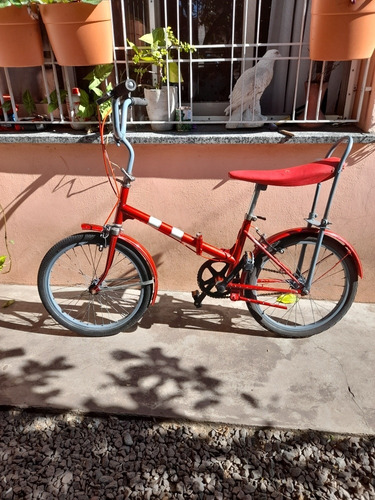 Bicicleta Plegable Restaurada