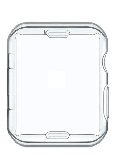 Imagem 1 de 4 de Capa Protetora De Silicone Para Apple Watch De 42mm Ou 44mm
