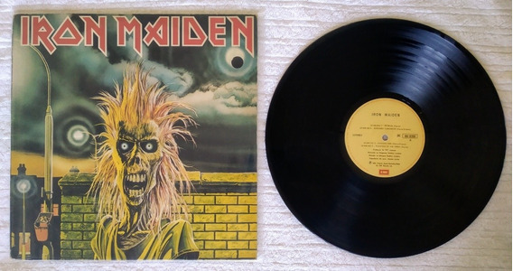 Lote Lp Iron Maiden - First, Piece Of Mind, Number Of Beast
