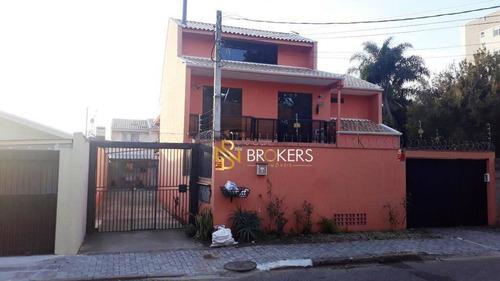 Sobrado Com 2 Dormitórios À Venda, 117 M² Por R$ 400.000,00 - Bacacheri - Curitiba/pr - So0046