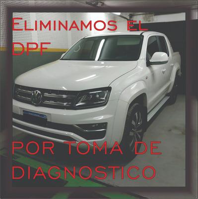 Amarok V6 S10 Hilux Dpf Off Filtro Particulas Menor Consumo