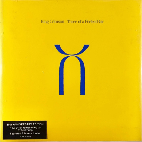 Cd King Crimson - Three Of A Perfect Pair - 6 Bonus Tracks