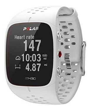 Reloj Running Smarthwatch Polar M430 Blanco De Lujo