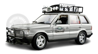Land Rover Safari 4 X 4 Experience Prata Burago 1/24