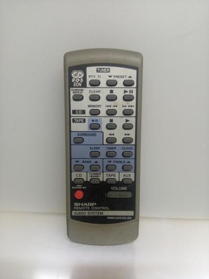 Controle Som Sharp Xl70 Original