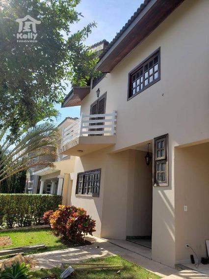 Casa Com 4 Dormitórios Para Alugar, 433 M² Por R$ 3.500/mês - Jardim João Paulo Ii - Presidente Prudente/sp - Ca0745