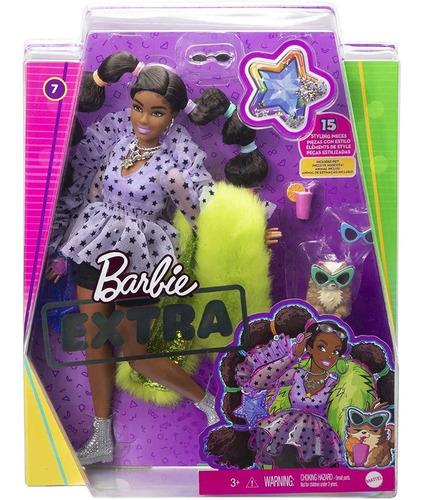 Imagem 1 de 8 de  Barbie Extra 2021 Afro 7 Negra Lançamento Articulada