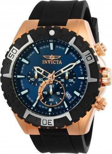 Reloj Invicta 22524 Silicone Negro Hombre
