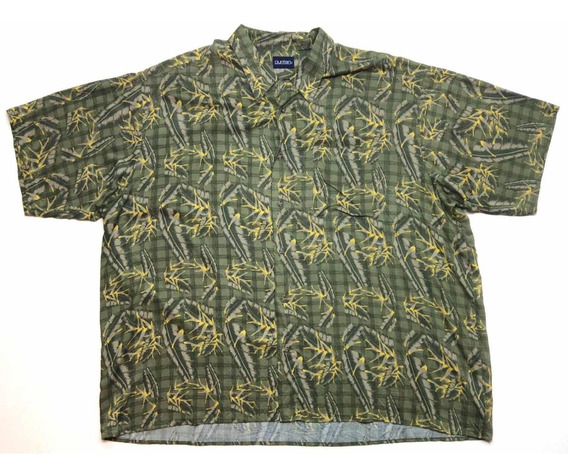 Camisa Hawaiana Tropical Floreada Surf Talle 3xl 1371