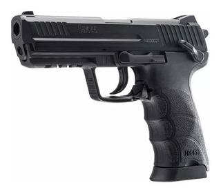 Pistola Hk45 Metalica / Airsoft 6 Mm / Co2 / Hko2
