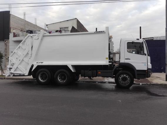 Mercedes Benz Atego 1725 Balancín Compactadora Scorza 2012