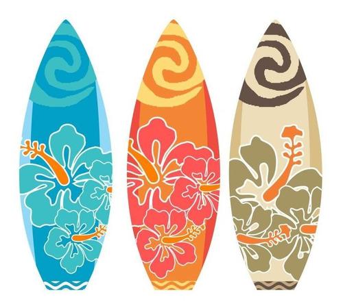 Imagem 1 de 2 de 3 Prancha Moana Hawai Surfe Tropical Festa Totem Display Mdf