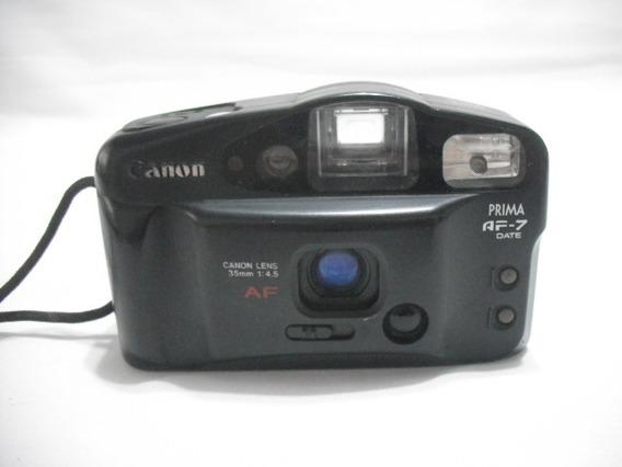 Maquina Fotografica Antiga Codr Canon Prima Af7 Date