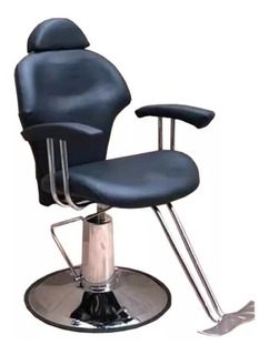 Sillon Hidraulico Peluqueria /barberia Negroa55 Envio Gratis