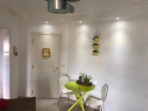 Apartamento Em Parque São Vicente, São Vicente/sp De 60m² 2 Quartos À Venda Por R$ 202.000,00 - Ap609004