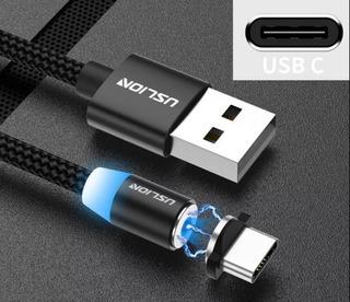 Cable Magnético Usb Tipo C - Carga Rápida.