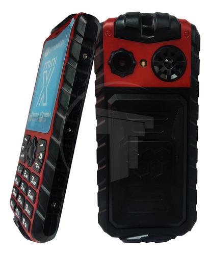 Teléfono Celular Dual Sim Smooth Snap Mini X Rojo