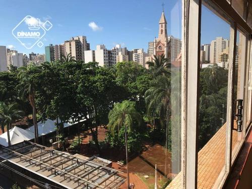 Apartamento Com 3 Dormitórios À Venda, Centro - Ribeirão Preto/sp - Ap3273