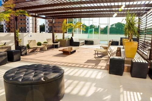Apartamento Em Manaíra, João Pessoa/pb De 70m² 3 Quartos À Venda Por R$ 335.000,00 - Ap739124