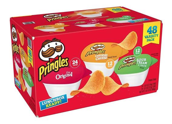 Pringles Caja De Sabores Variados