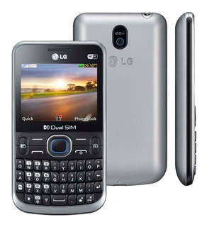 Lg C397 - Dual Chip, Câmera 2mp, Mp3 Player Semi Novo
