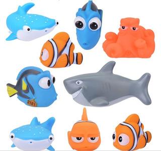 Nemo Dory Juguetes De Baño Kit X 4 Playa