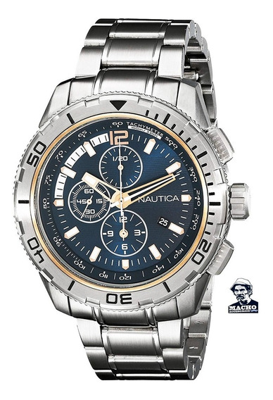 Reloj Nautica Nst 101 Nad24500g En Stock Original Garantía