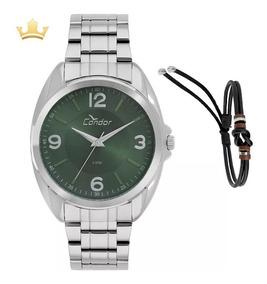 Relógio Condor Masculino Kit Co2035kvh/k3v Com Nf