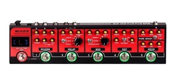 Pedaleira Mooer Red Truck Multi Efeitos Para Guitarra Cpt1