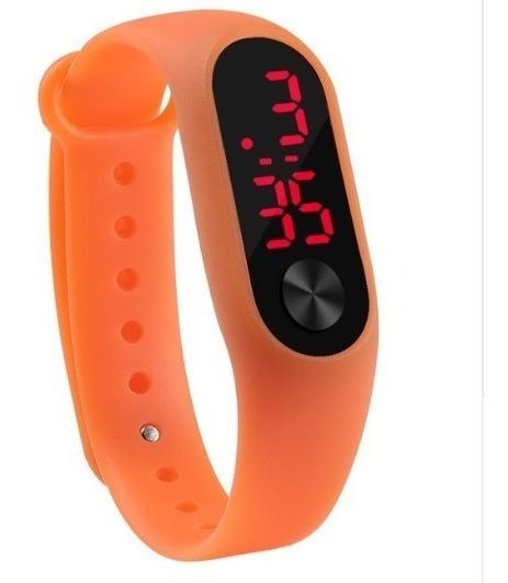 Relógio Digital Infantil Pulseira De Silicone Varias Cores
