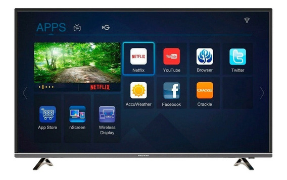 Smart Tv Led Hyundai 43 Hyled 4k Uhd