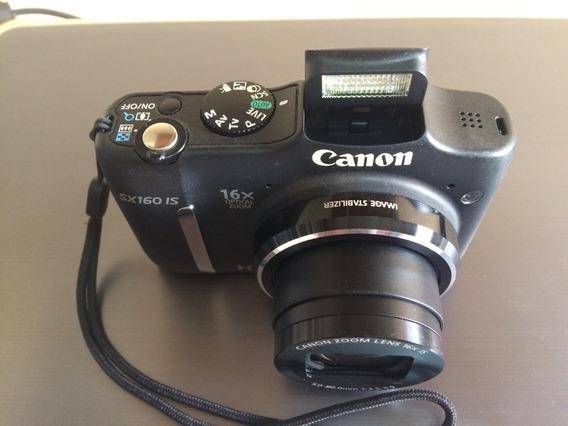 Câmera Canon Sx160 Is Power Shot Hd