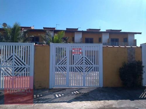 Imagem 1 de 17 de Casa Com 2 Dormitórios À Venda, 70 M² Por R$ 250.000 - Jardim Bopiranga - Itanhaém/sp - Ca1508