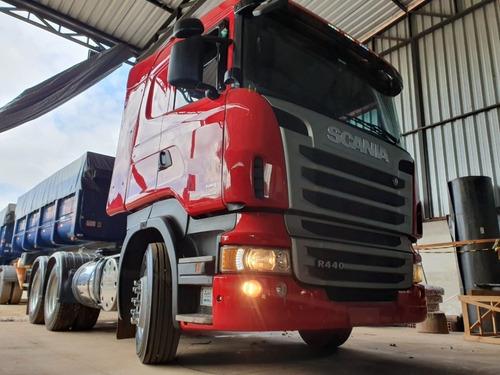 Scania R440 6x4 Ano 2013 Traçado Canelinha Retarder